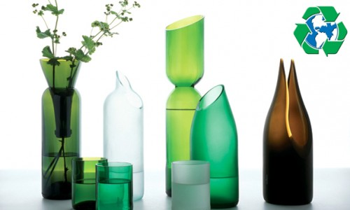 Tips para reciclar vidrio for Reciclar botellas de vidrio
