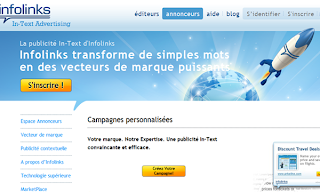 Publicité In-Text Infolinks