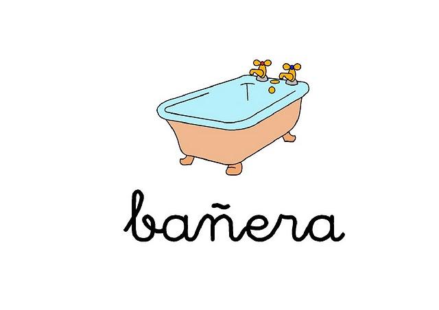Imagenes y dibujos de palabras for Cosas de bano con b