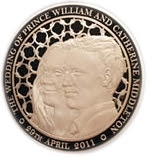 Coin Collecting News: £40000 Solid Gold Kilo Coin Marks Royal Wedding