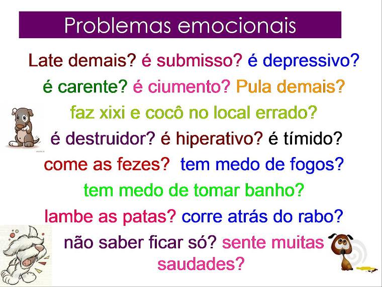 Doenças emocionais....