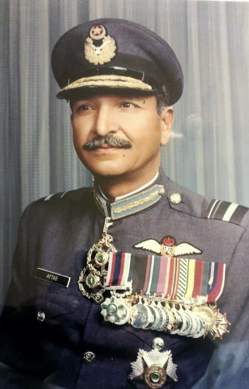 Air Vice Marshal (R)Raja Aftab Iqbal