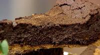 Foto da Torta de Chocolate com Suco de Limao