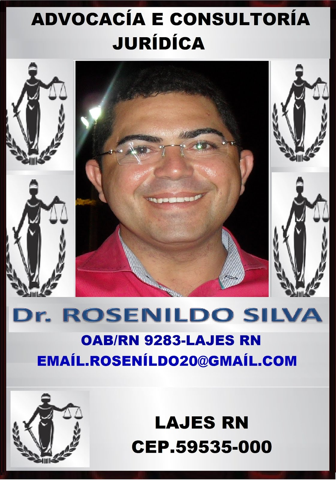 ADVOGADO DR ROSENILDO SILVA LAJES RN