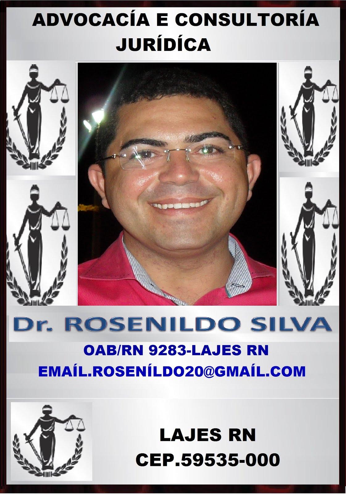 ADVOGADO DR ROSENILDO SILVA LAJES RN