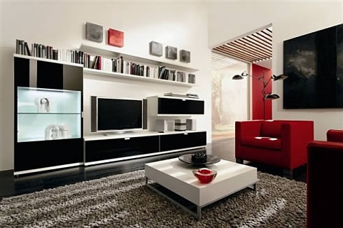 Contemporary Living Room on Living Room Cabinets   Living Room Cabinets Design   Modern Cabinet