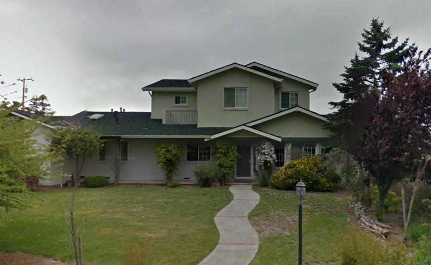 casas bonitas americanas casas pintadas de color gris 1