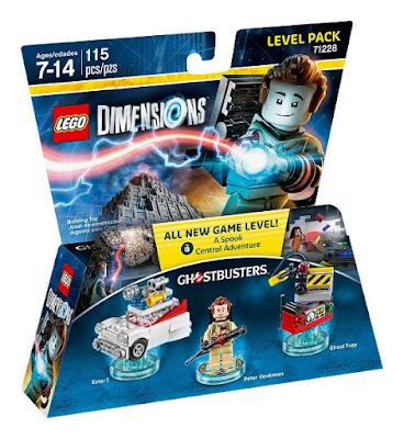 TOYS : JUGUETES - LEGO Dimensions  71228 Ghostbusters : Level Pack | Cazafantasmas  Peter Venkman + Ecto-1 + Ghost Trap  Figuras - Muñecos - Videojuegos  | Edad: 7-14 | Piezas: 115  Comprar en Amazon España & buy Amazon USA