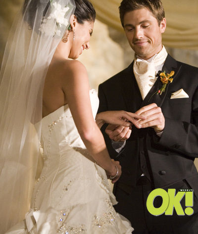 Eric Winter and Roselyn Sanchez Wedding