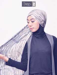 Tutorial Hijab Praktis Tanpa Peniti