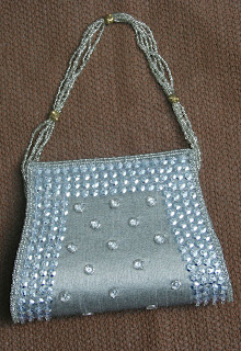 Silver Shine Ladies Purse