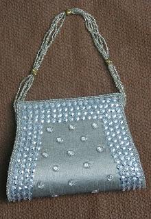 Silver Shine Ladies Purse