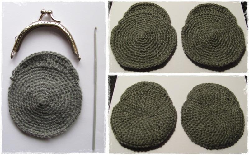 Monederos de ganchillo patrones - Imagui