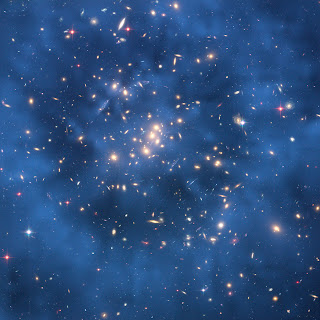 spacetelescope.org - Dark matter ring in galaxy cluster Cl 0024+17
