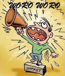 Contoh Membuat Brosur Woro Woro
