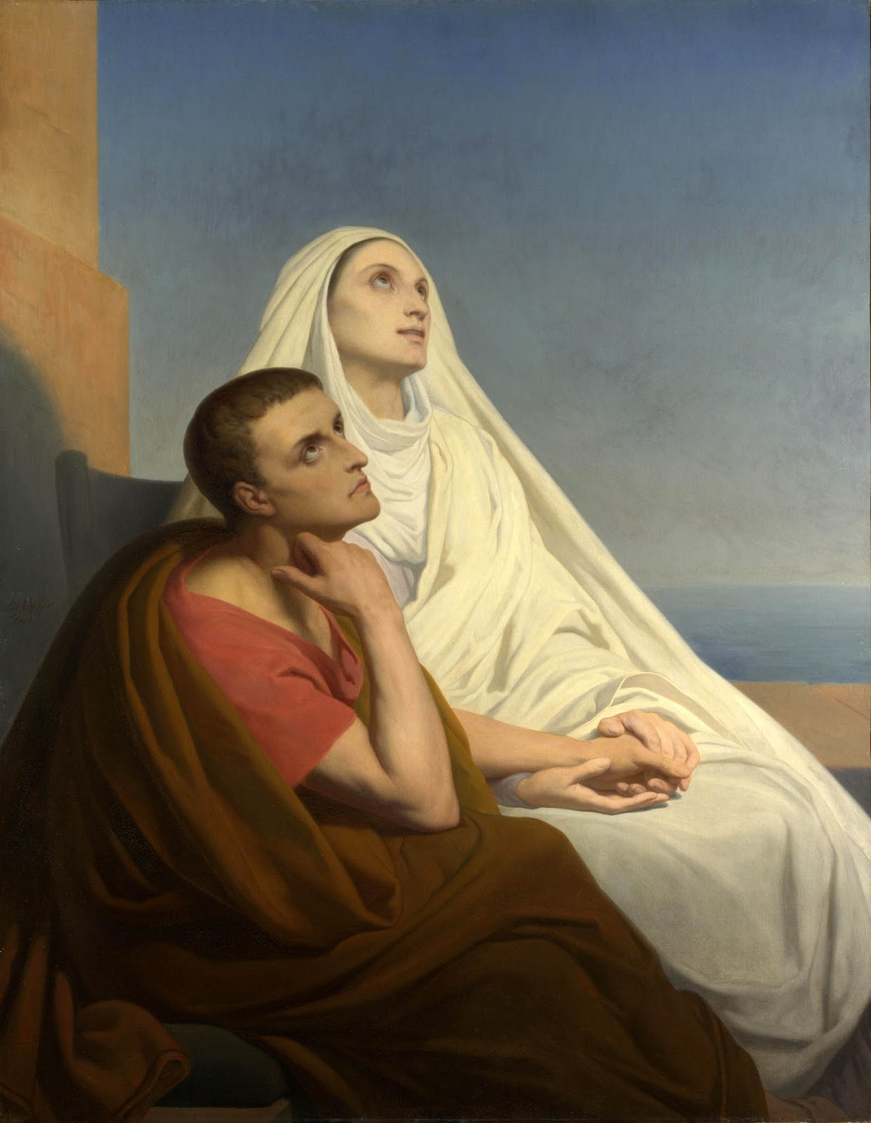 Ary Scheffer painting