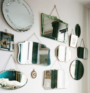 Shabby chic ireland romantic shabby chic bedroom furniture for Different sized mirrors