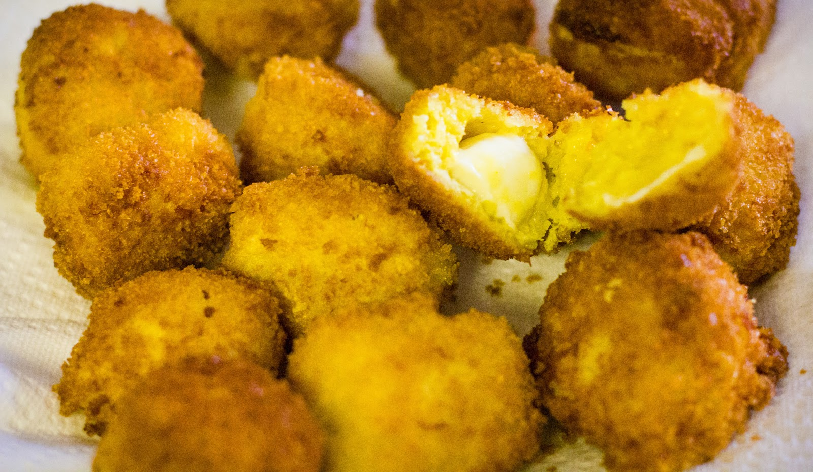 37 Cooks: Saffron Risotto AND Fried Rice Balls Stuffed ...