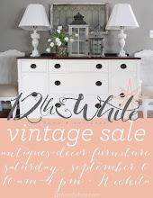 Vintage Sale September 6
