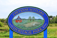 Featured Marker:<br>African American Settlers of Cheyenne Valley