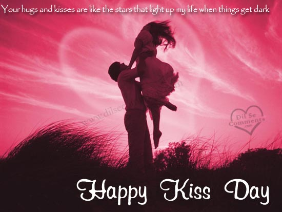 Happy valentine happy kiss day 2016 greetings kiss day 2016 greetings m4hsunfo