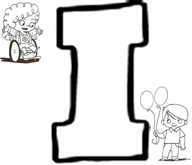 Atividades de Alfabetização coma letra I