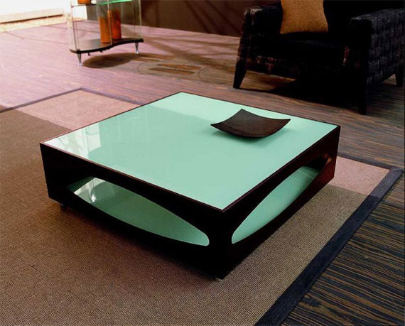 Colored Coffee Table