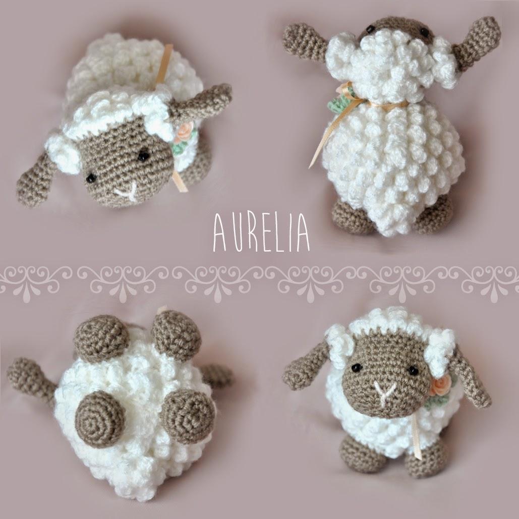 Free Pattern Crochet Lamb : ergahandmade: Crochet Lamb Amigurumi + Free Pattern + Videos