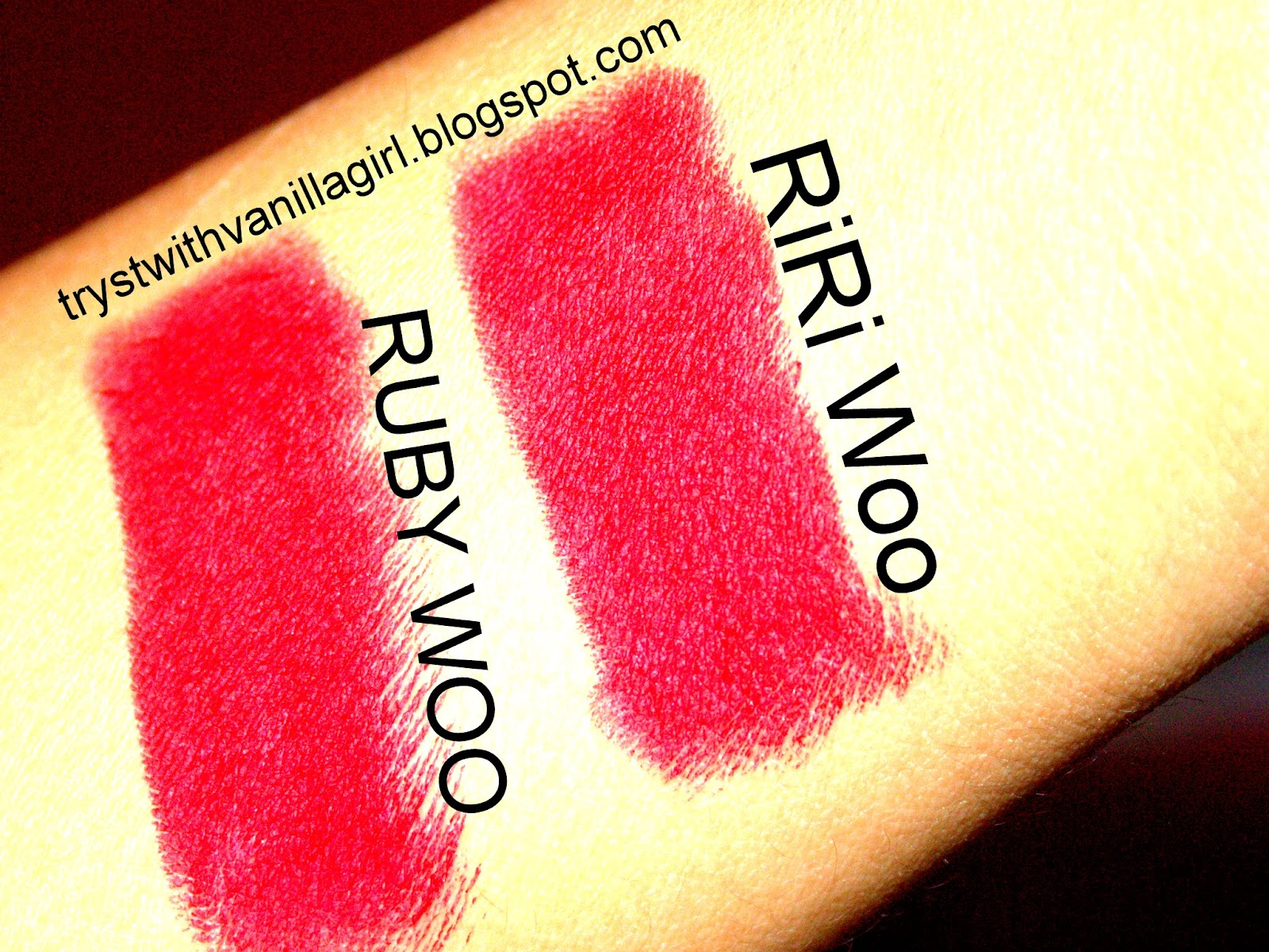 ririwoo,ruby woo,mac lipsticks,indisn beautyblog