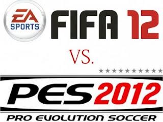FIFA 2012 vs PES 12