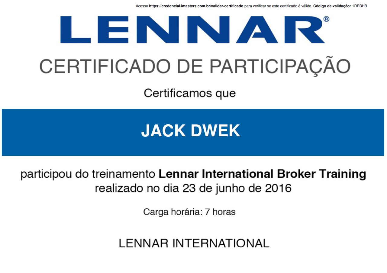 LENNAR INTERNATIONAL