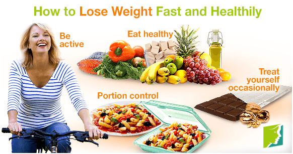 Lose weight a week