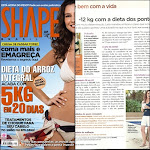 EU na REVISTA SHAPE: