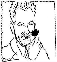 Ο Πάμπλο Πικάσο εμπνεύστηκε ένα διάσημο σκίτσο από την εικόνα του ανθρώπου με το γαρύφαλλο.