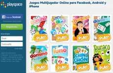Playspace: juegos online para Facebook, iOS, y Android (Parchís, Luno, Bingo, Chinchón, Dominó, La Oca)