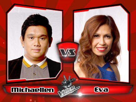 Eva delos Santos vs Michaellen Temporada | The Voice of the Philippines Battle Rounds