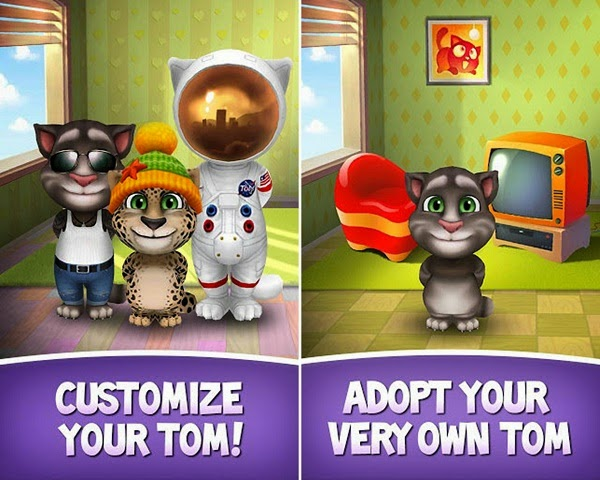 talking cat android games free download