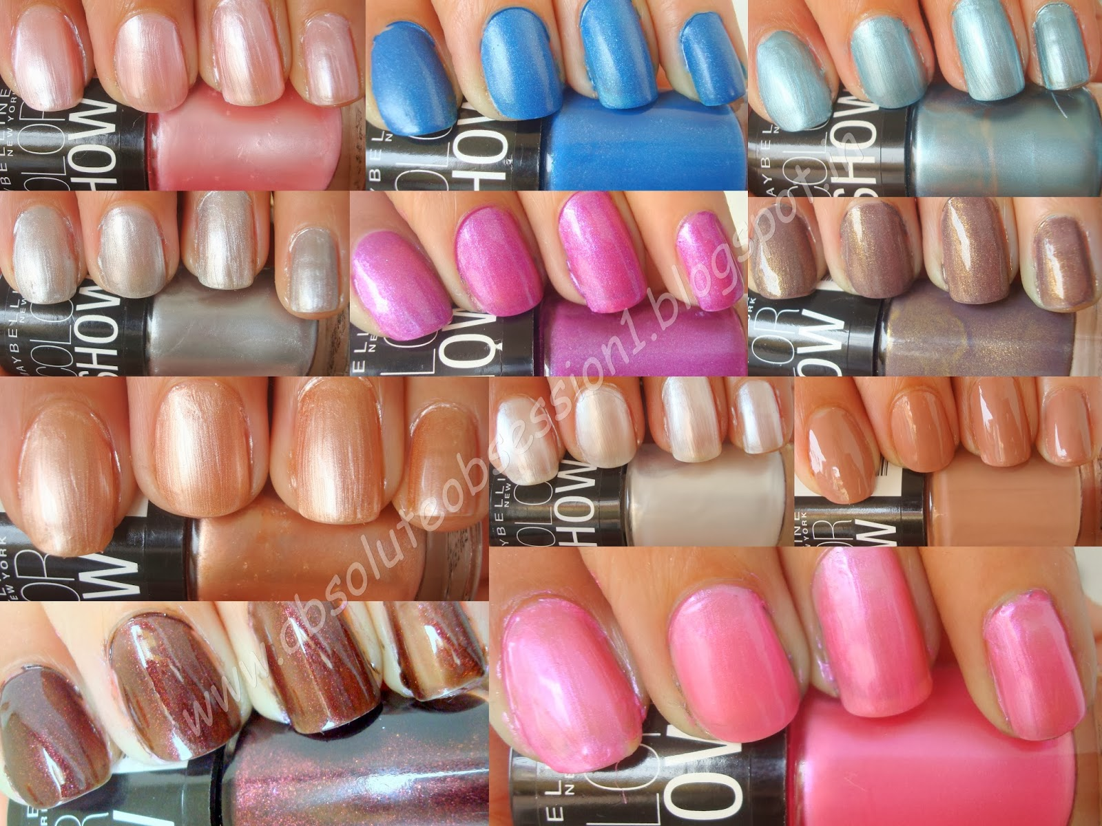 Maybelline Color Show Nail Lacquer Review foto