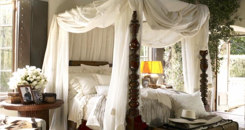 Romantic Four Poster Beds ralph lauren home: {california romantic collection} | fleur de londres