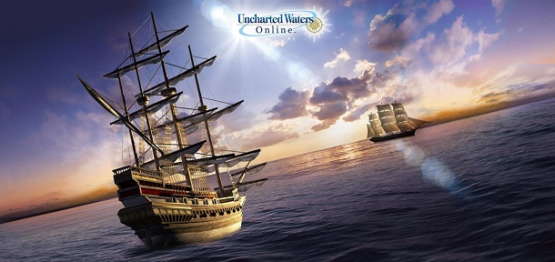 Seja o rei dos mares em Uncharted Waters Online