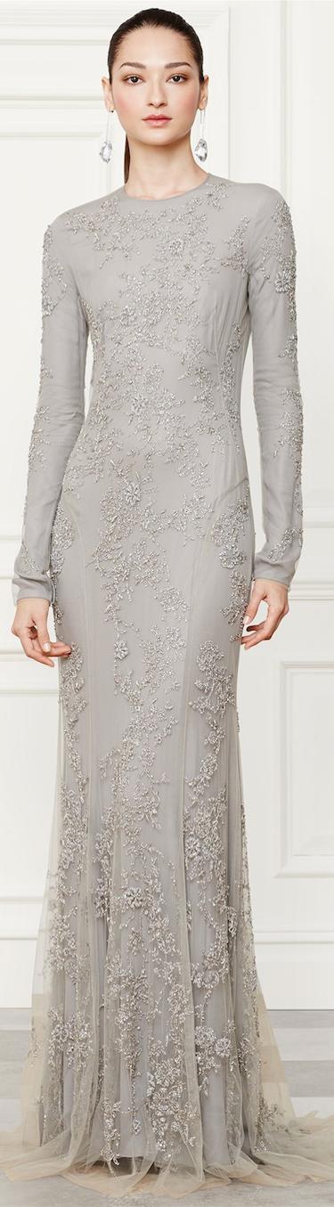 Ralph Lauren Danielson Evening Gown Fall 2014 Collection