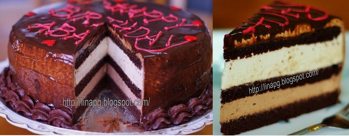 Tempahan Indulgence Chocolate Cheese Moist Cake (Penang)