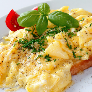 Spicy Scrambled Eggs Recipe