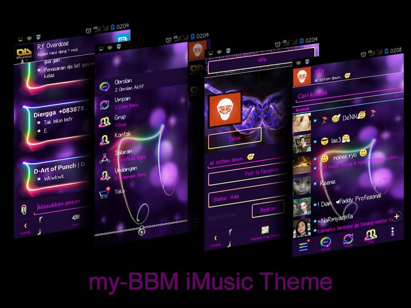 my-BBM iMusic