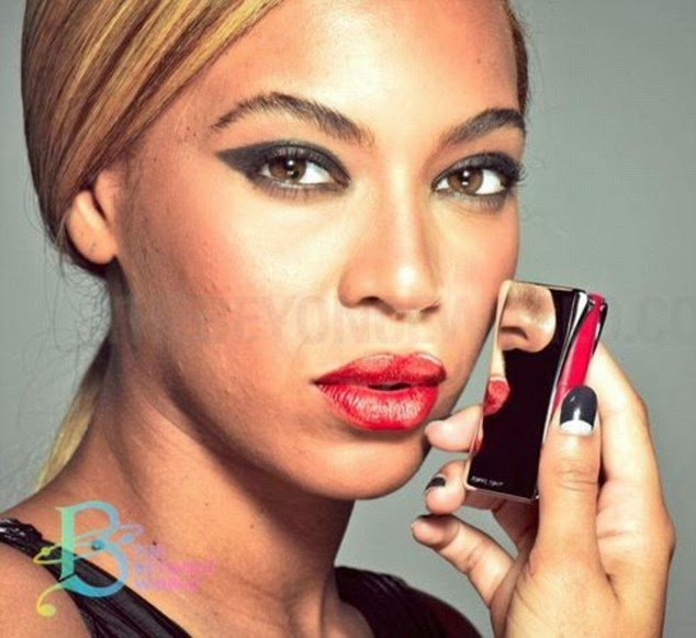 Beyonce Unretouched