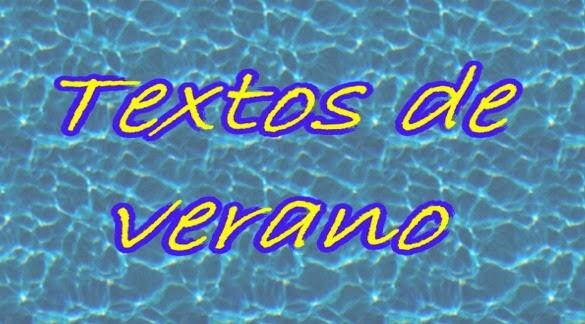 """Actividades"" de verano"