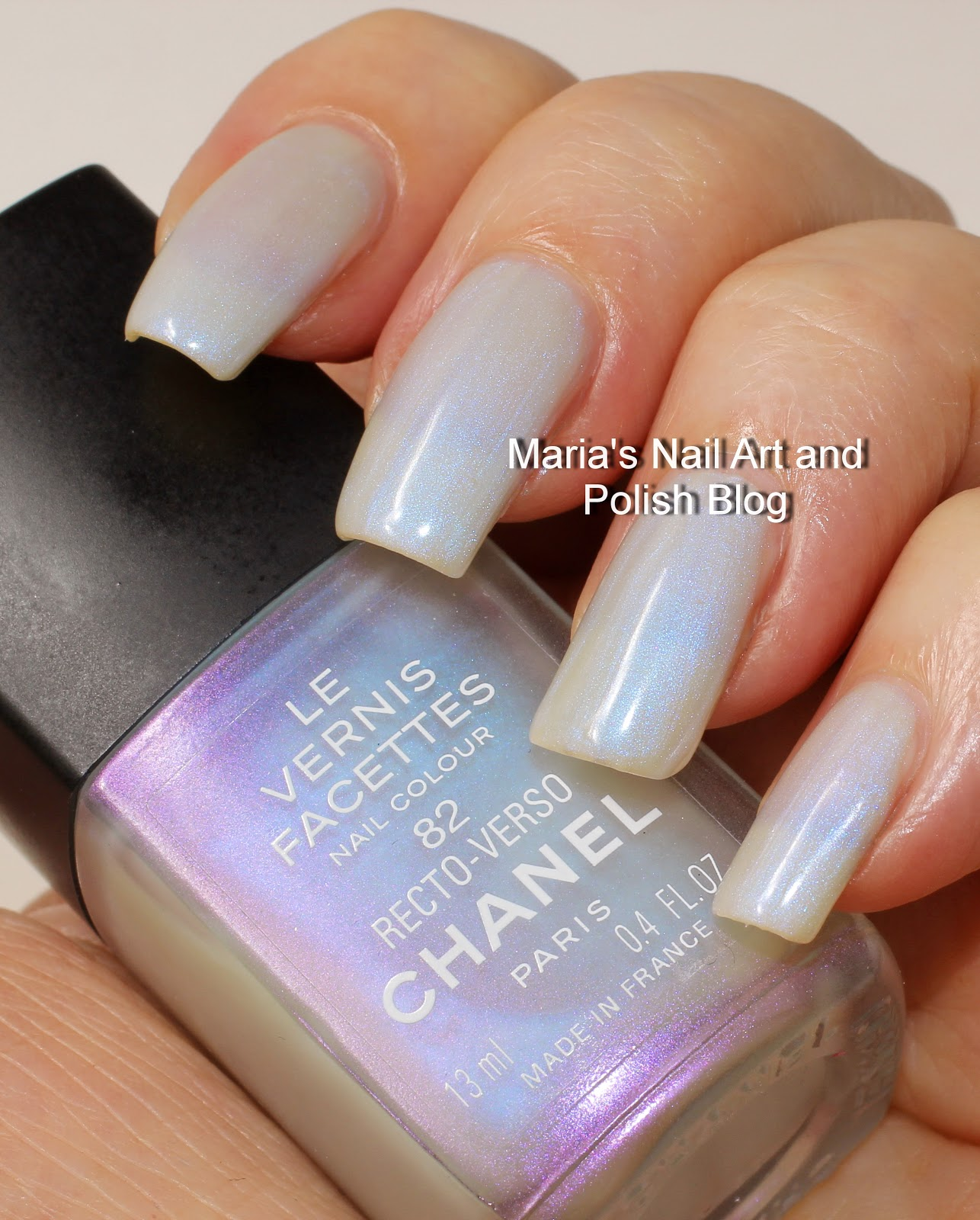 Marias nail art and polish blog chanel recto verso 82 les vernis in this collaboration saturday with my friend elena from picturedtinsel i have the second of the four polishes from chanel les vernis facettes coll 2000 prinsesfo Choice Image