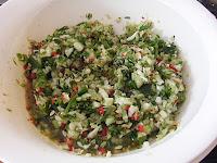 Tupperware Pro Mixing Bowl sweet chilli relish
