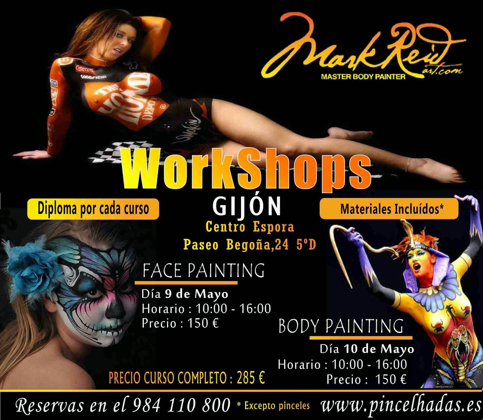 Blog del maquillaje profesional workshops mark reid en for Sillas para maquillar