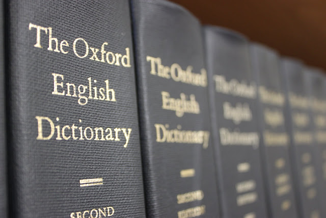 Who buys a dictionary today?